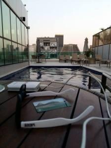 vista+piscina+hotel+granada