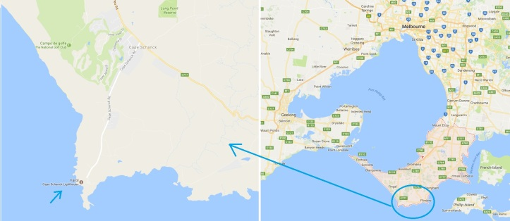 mapa+peninsula+mornington