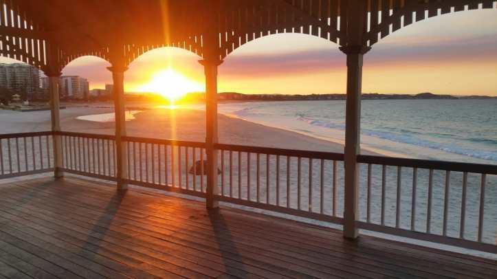 Kirra+sunset+goldcoast